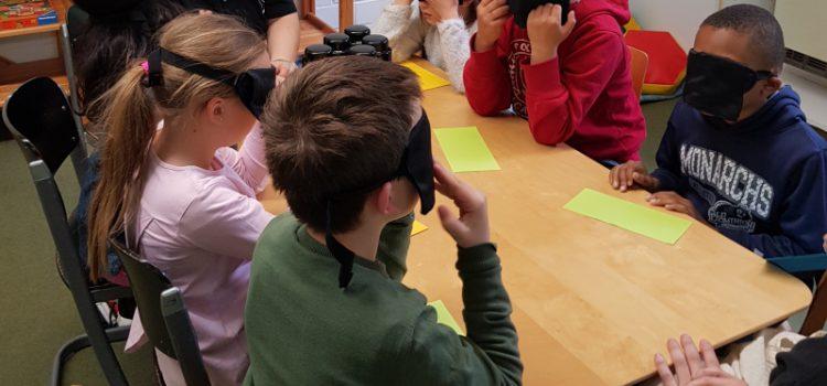 Blindenprojekttage an der Schönbuchschule